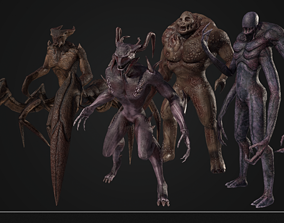 Creature collection 3D model