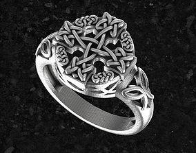 printing Celtic-ring 3D print model