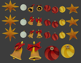 3D model christmas toys star
