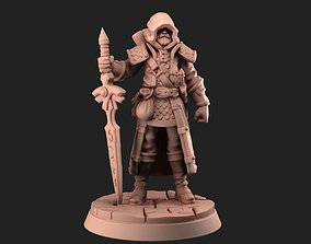armor 3D printable model Knight Traveler 30mm