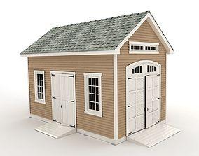 workshop Garden shed 3D