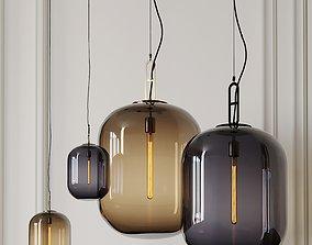 MAX LARGE and MINI LED PENDANTS By Stone Lighting 3D model