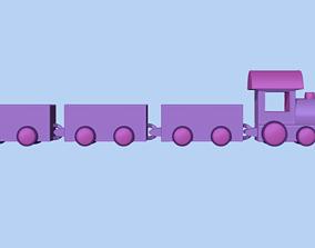 3D print model Cute train