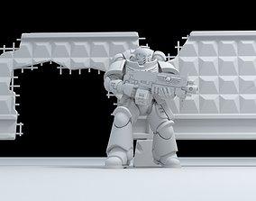 3D print model Russian - Fence PO-2 - fence slab-2-Damaged