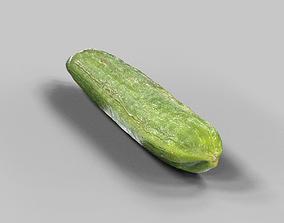Cucumber 3D asset realtime crunchy