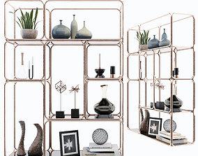 Shelf 3D model shelves