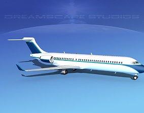 Comac ARJ21-700 Corporate 4 3D