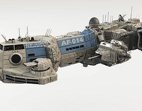 3D CDF Assault Frigate - Nexus