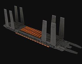 Eta-class supply barge Spaceship 3D model
