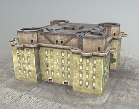 WW2 FlakTurm IV 3D model