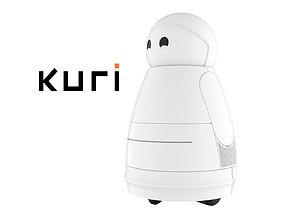 Kuri Robot White 3D