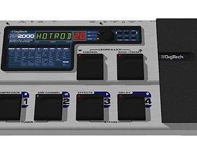 3D model Digitech Guitar Effects Processor