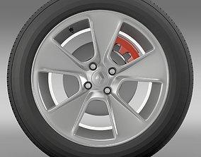 Renault Logan2 wheel 3D
