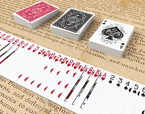Playing Cards REBELS - Poker Card Set 6 - single 3D model