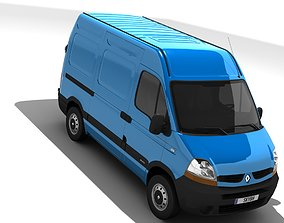 Renault Master L1H2 2006 3D model