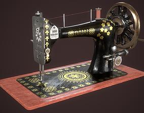 3D model VR / AR ready Sewing Machine