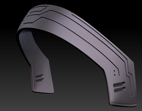 Bo-Katan Headband ready for 3D print The Mandalorian 1