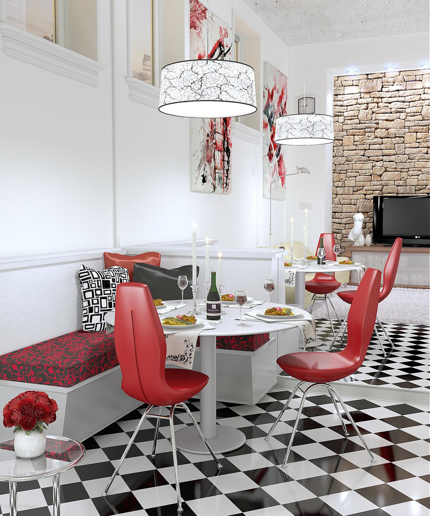 Restaurant (Blender + VRay)