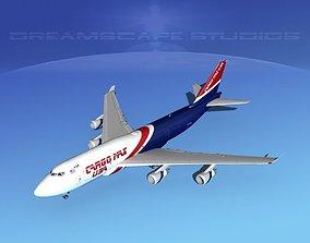 3D model Boeing 747-400 Cargo 3