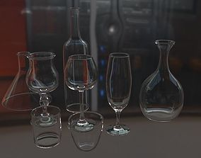 3D model Glasses Collection