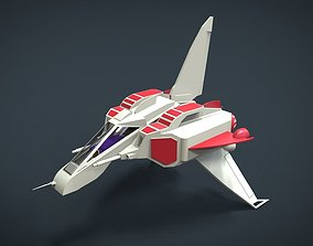 Lizard King SpaceShip 3D asset