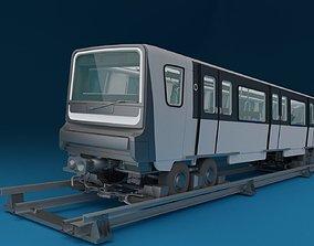 Paris Subway Train MP-14 3D