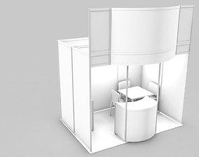 exhibition stand design show 3D model