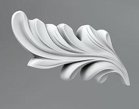 3D model Flower decor 17