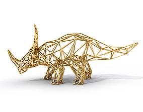 Styracosaurus Structural Frame 3D model
