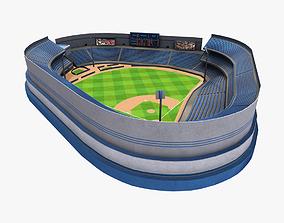 3D asset Baseball Stadium