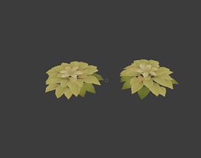 3D model Stylized foliage v2