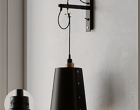 3D model HOOKED Large Wall Light from Buster and Punch