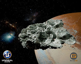 3D asset Detailed Asteroid2