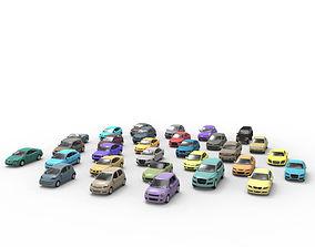 Complete Vehicle Pack EA color 3D asset
