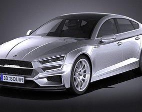 Generic Sedan 2017 v2 studio 3D model