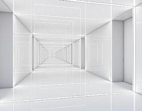 3D model Futuristic Corridor
