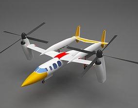 Plane jumbo 3D model