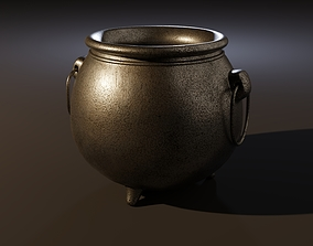 3D model PBR Cauldron