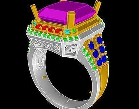 3D print model TJO 17 Diamond Ring