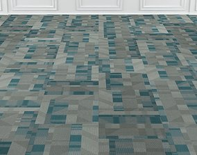 3D model Wall to Wall Carpet Tile No 3