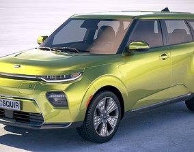 Kia Soul EV 2020 3D