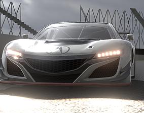 3D model Acura NSX GT3