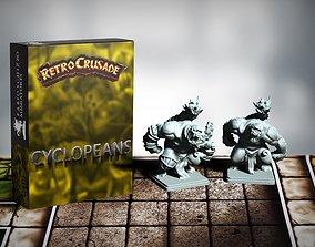 Retrocrusade - Cyclopean set 1 3D print model