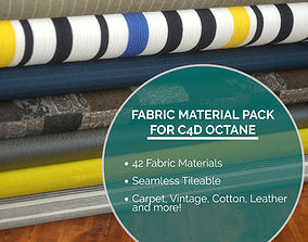 42 Fabric Materials for C4D Octane wool 3D