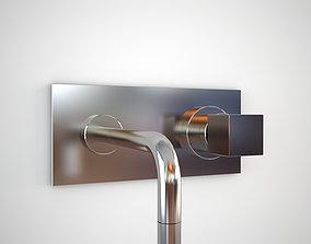 Gessi Quadro 15085 wall mixer 3D model