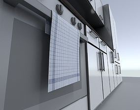 Kitchen module 3D asset