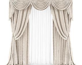 Curtain 3D model 25