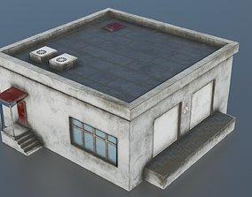 3D asset Low poly storage