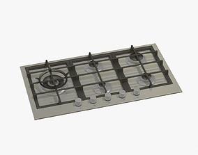 Steel Cook-top 3D model