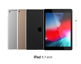 iPad 9 7-inch Collection 3D